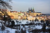 Prague Castle from Strahov garden