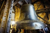 Zikmund Bell inside the St. Vitus Cathedral