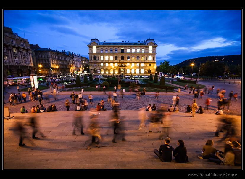 Muzejní noc Praha 2012